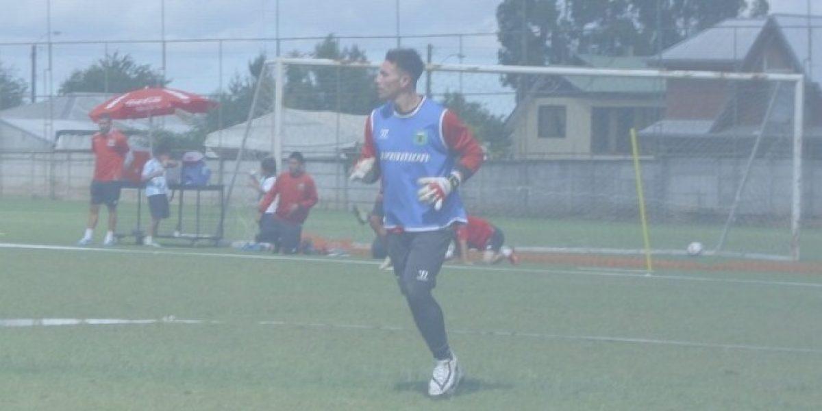 Deportes Temuco contrató a arquero de Palestino como último refuerzo