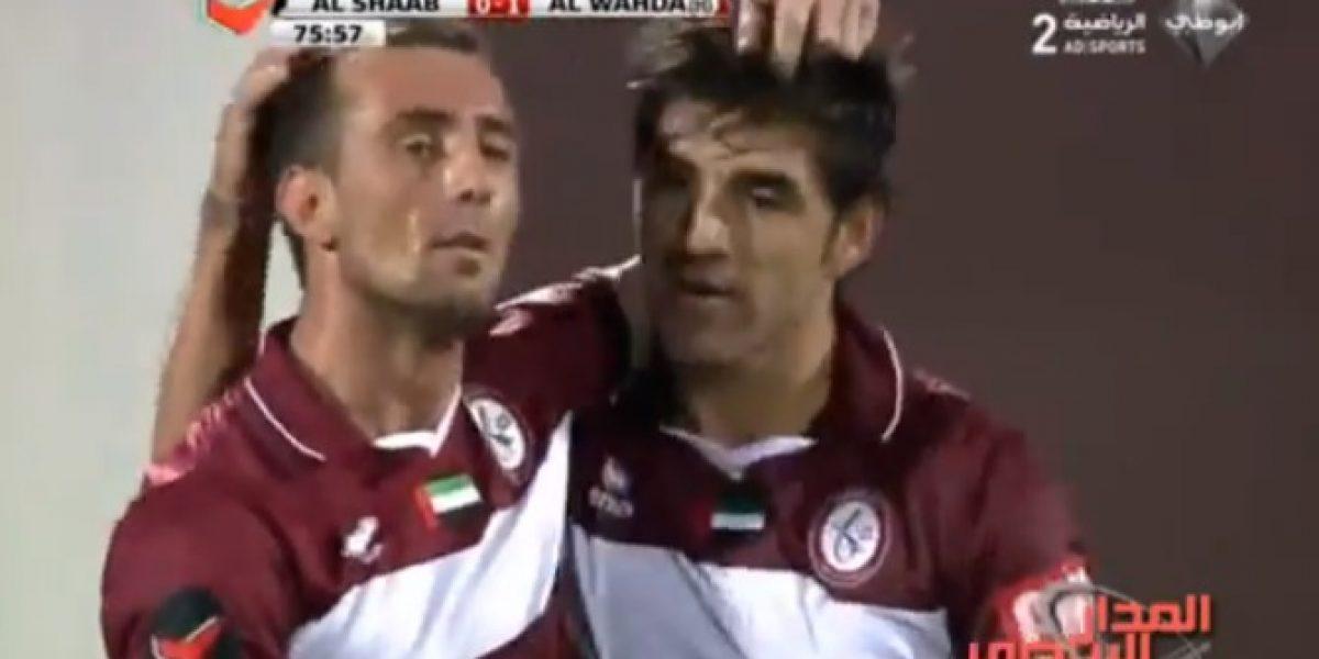 Video: ¡Golazo! Mira el hermoso tanto de tiro libre de Marco Estrada en los Emiratos Árabes