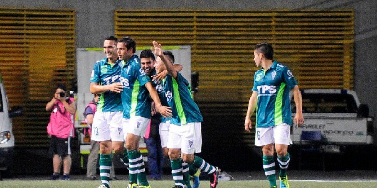 Con un gran triunfo Wanderers se posicionó en lo más alto del Clausura