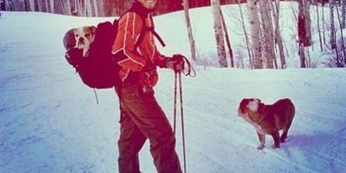 Fotos de Lewis Hamilton esquiando enfurece a fanáticos de Schumacher