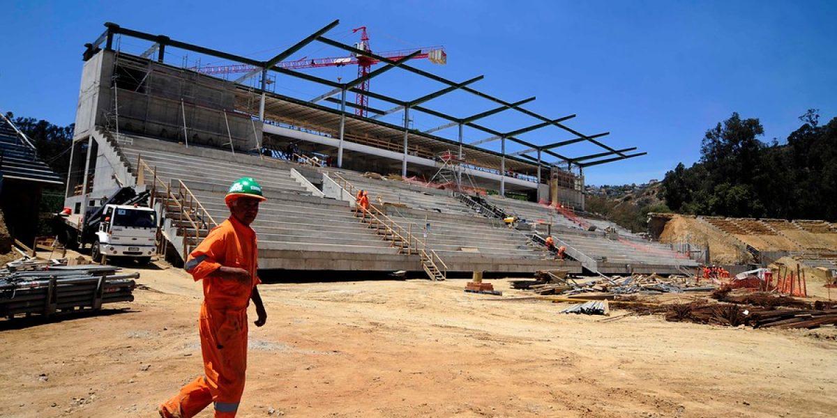 Galería: Así van los trabajos de remodelación del estadio Sausalito