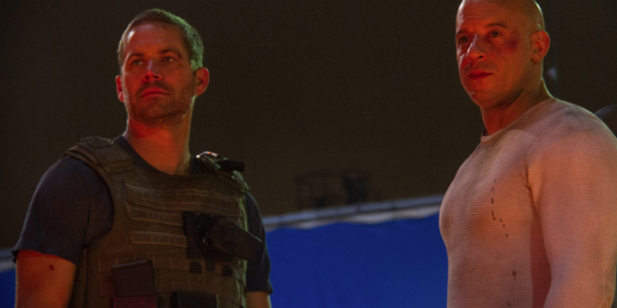 Vin Diesel publica la última escena que grabó con Paul Walker