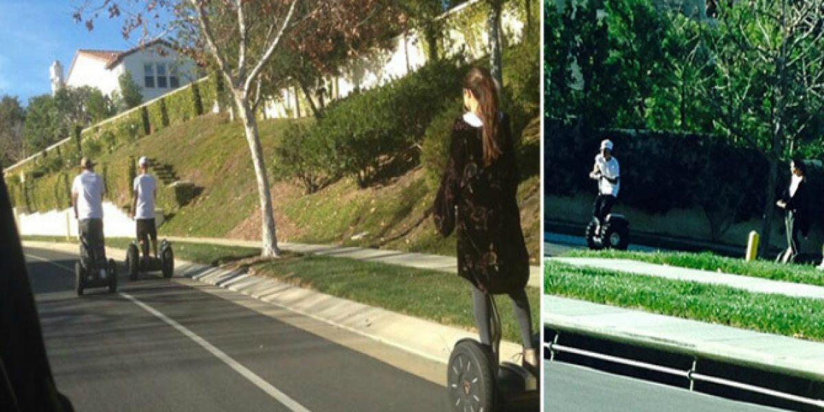 Justin Bieber y Selena Gomez son sorprendidos juntos