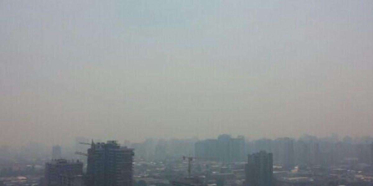 Fotos: Incendio forestal en Melipilla afectó a Santiago con intenso humo