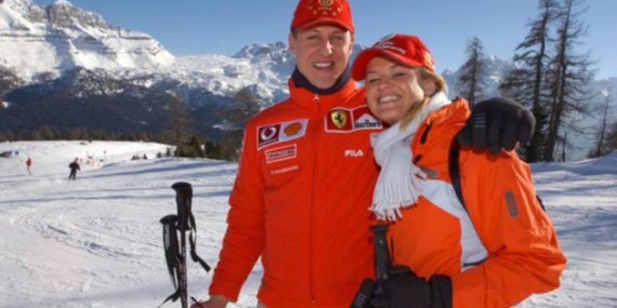 Michael Schumacher se dañó el cerebro el 2009