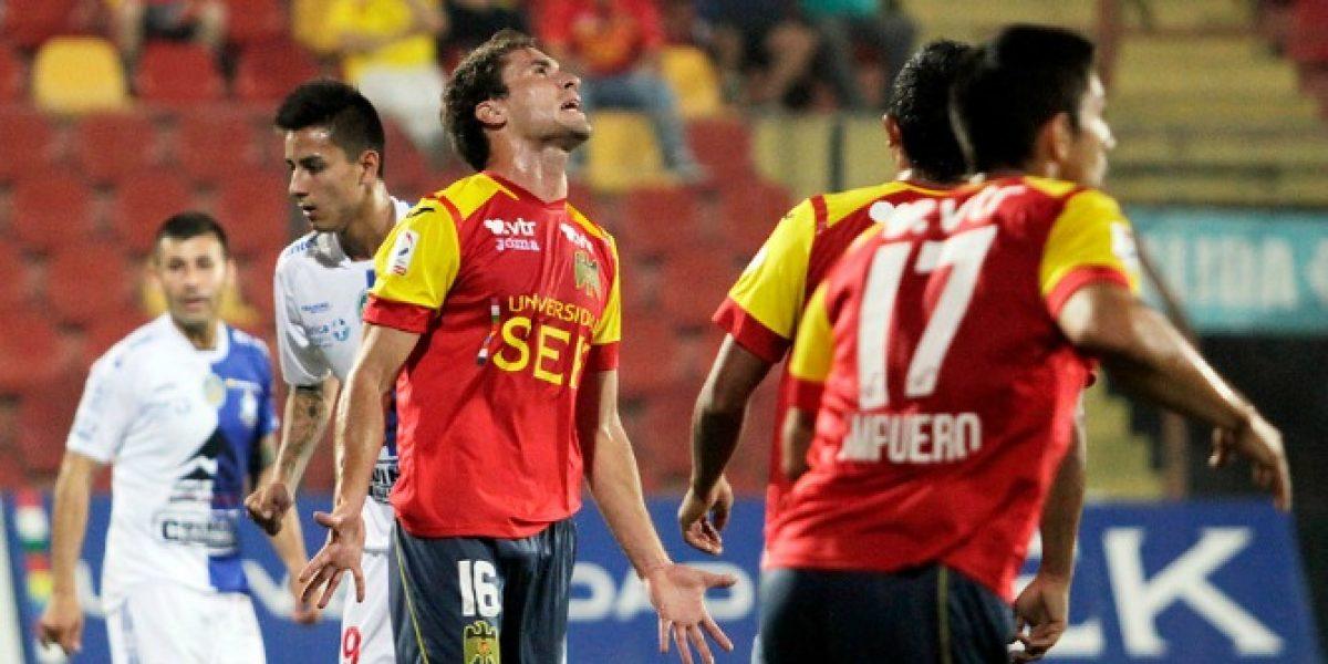 Unión Española y Antofagasta se conformaron con repartir puntos en Santa Laura