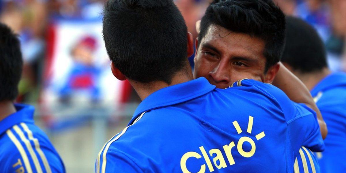Patricio Rubio se sacó la mufa y la U empezó ganando en el Clausura