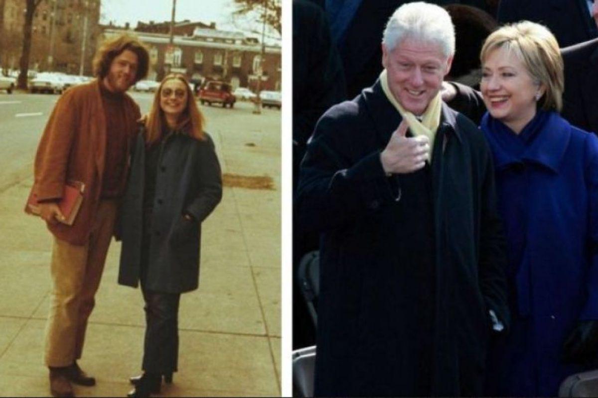 Foto:Bill y Hillary Clinton Foto: AcidCow. Imagen Por: