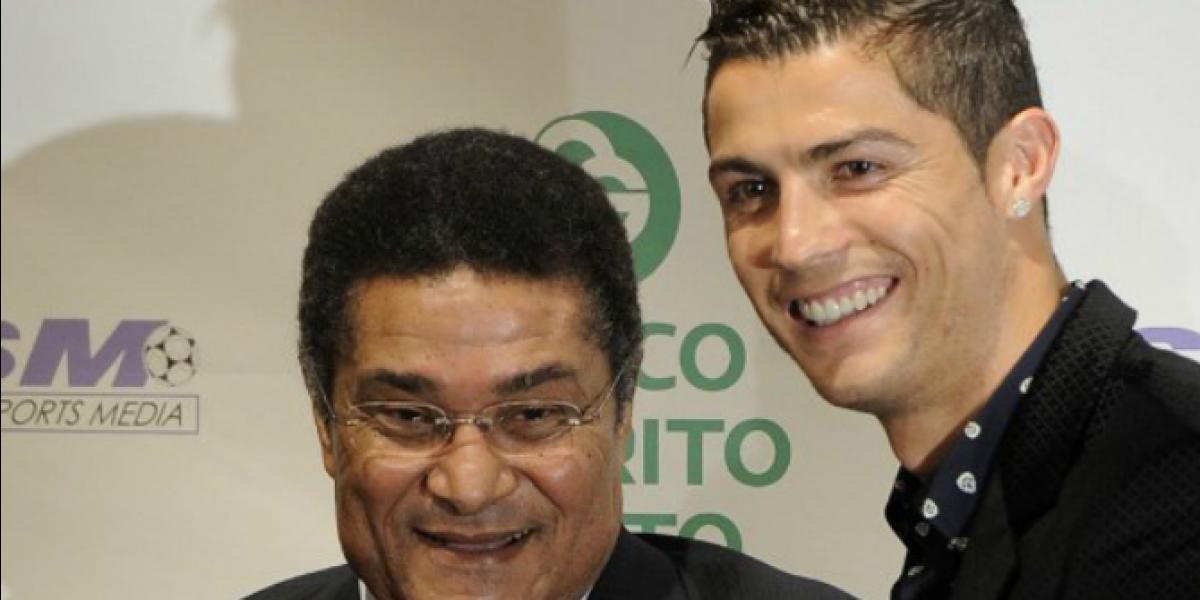 Cristiano Ronaldo lamenta muerte de Eusebio: