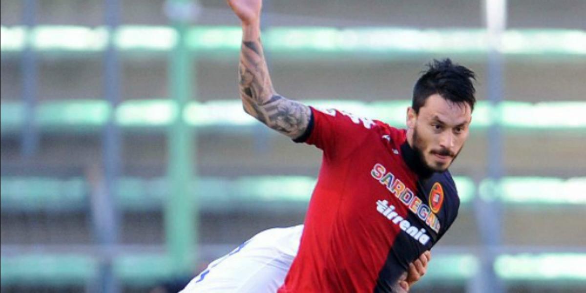 Mauricio Pinilla falla un penal en el empate de Cagliari ante Chievo