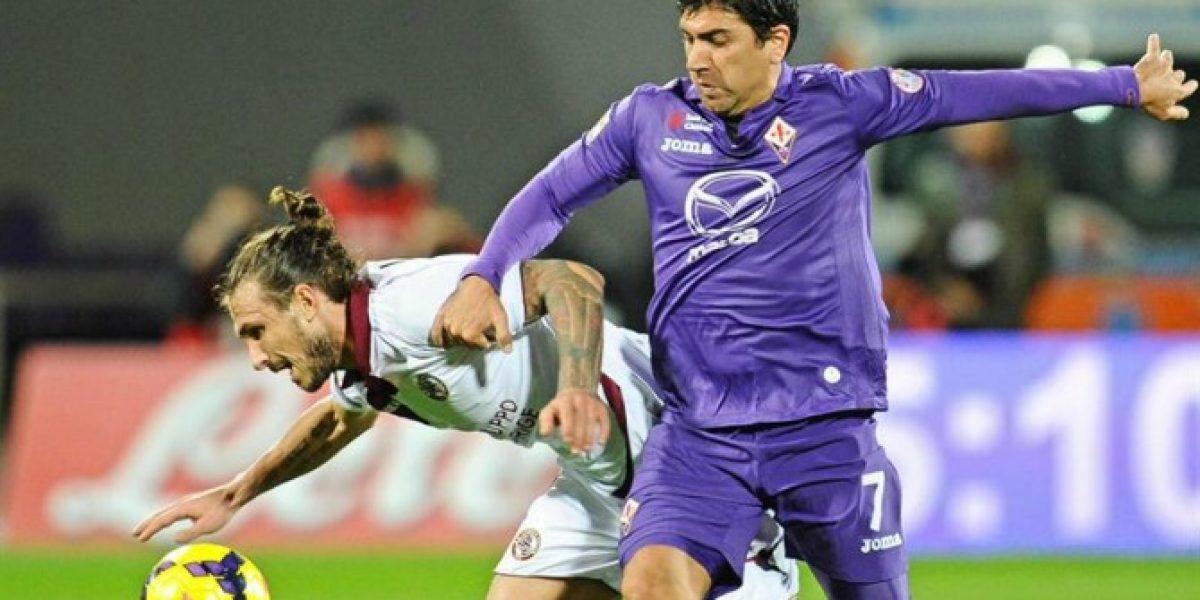David Pizarro titular en nuevo triunfo de Fiorentina en la Serie A