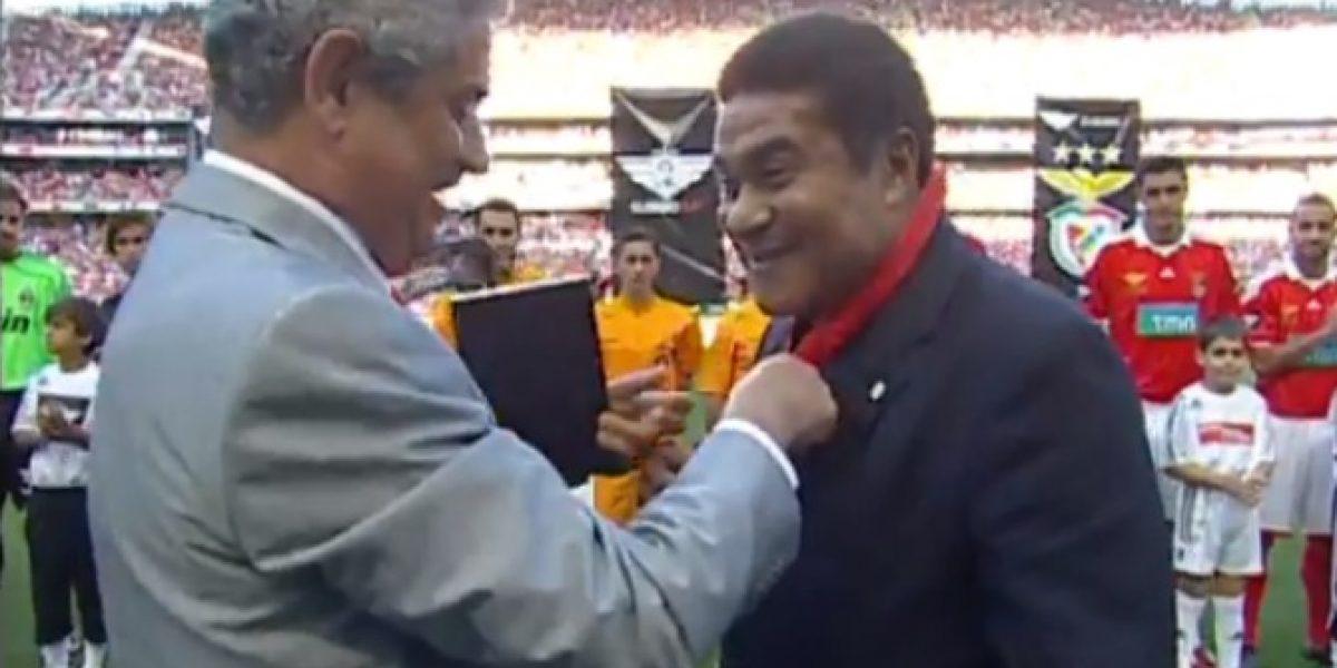 Benfica homenajea a Eusebio con emocionante video