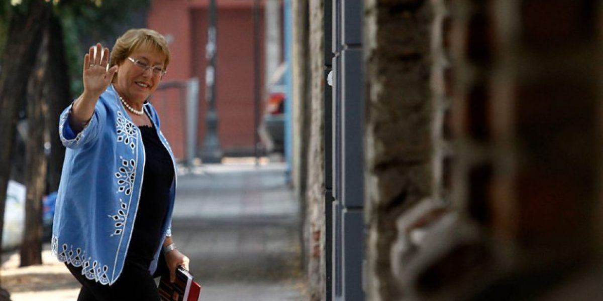 [FOTOS] La presidenta electa Michelle Bachelet reaparece tras sus vacaciones