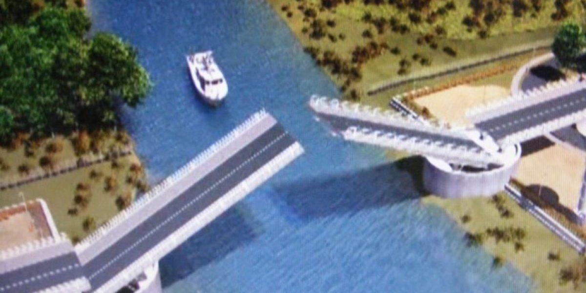 Bochorno en Valdivia: Instalan mal los brazos del nuevo puente Cau Cau