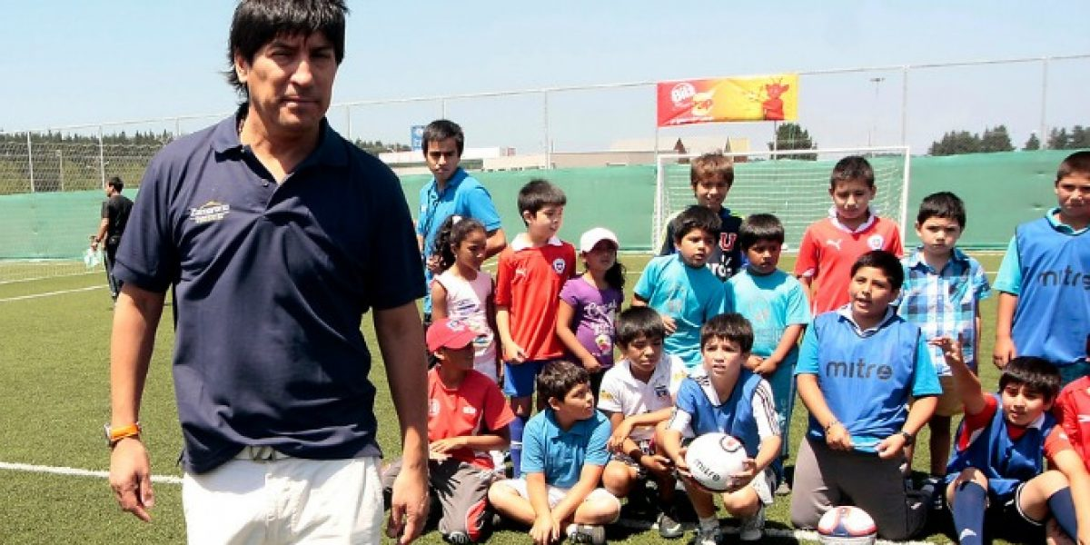 Zamorano y presente de Alexis: