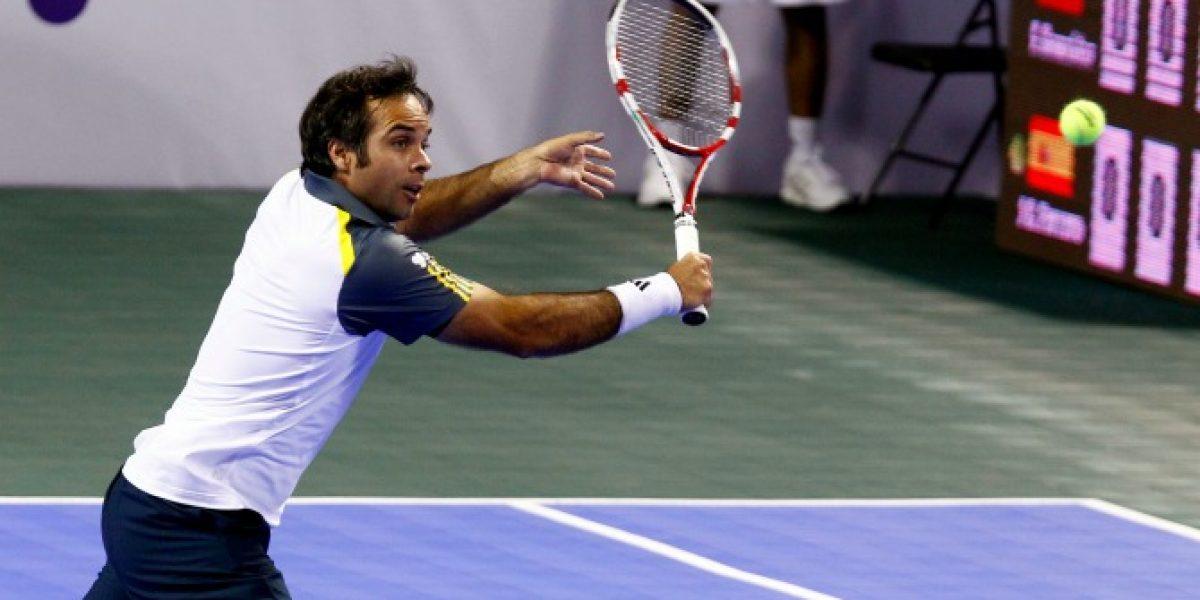 Feña González no jugará dobles en el ATP de Viña
