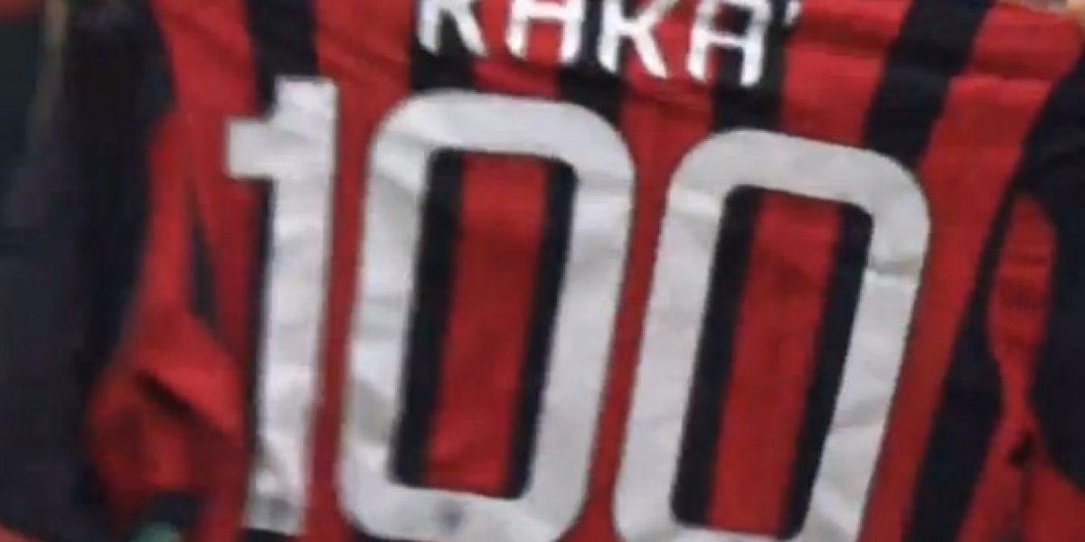 Video: ¡Un crack! Kaká anotó su gol número 100 con la camiseta del Milan