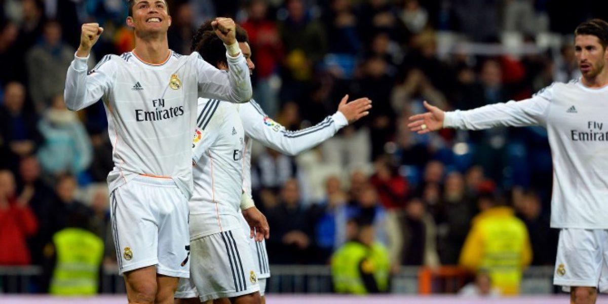 Cristiano Ronaldo realizó especial dedicación de sus goles ante el Celta de Vigo