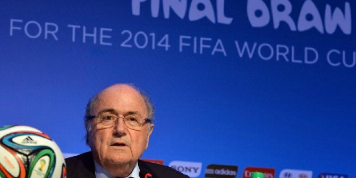 Joseph Blatter disparó con todo: