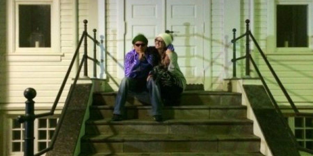 Charlie Sheen se casó por cuarta vez con su novia porno