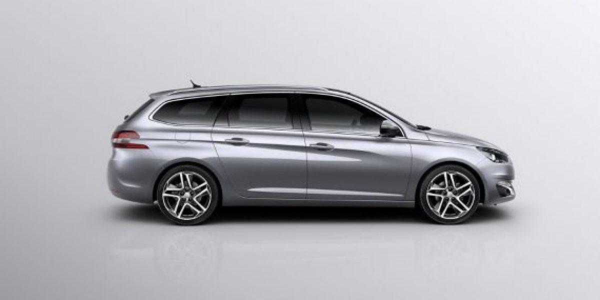 GALERÍA:Así es la versión Station Wagon del Peugeot 308