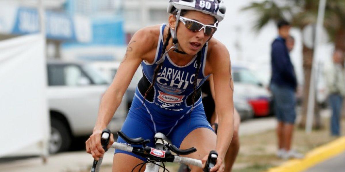 Valentina Carvallo y el Ironman de Pucón:
