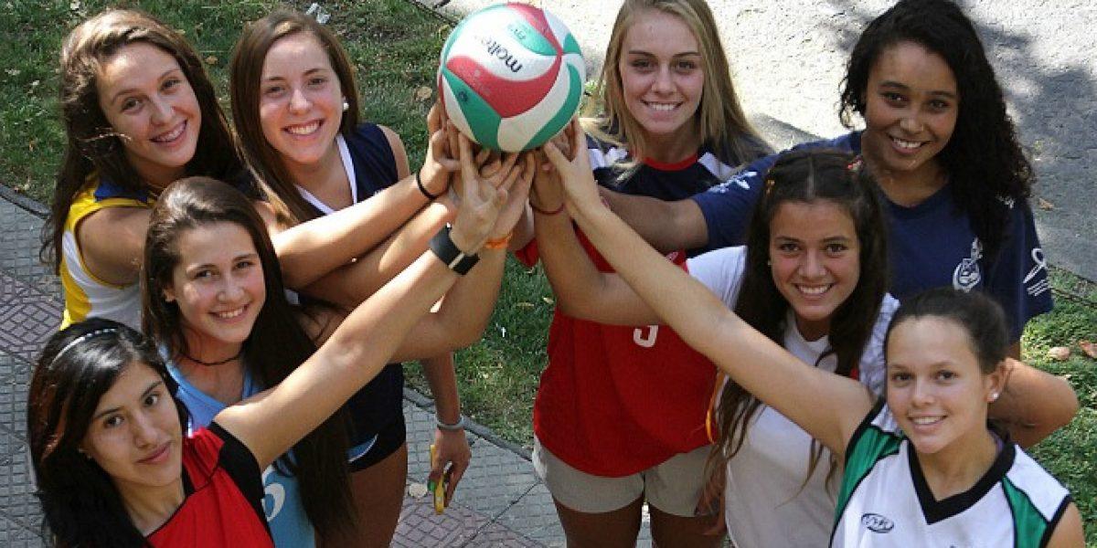 Las futuras estrellas del vóleibol se toman la Copa Providencia