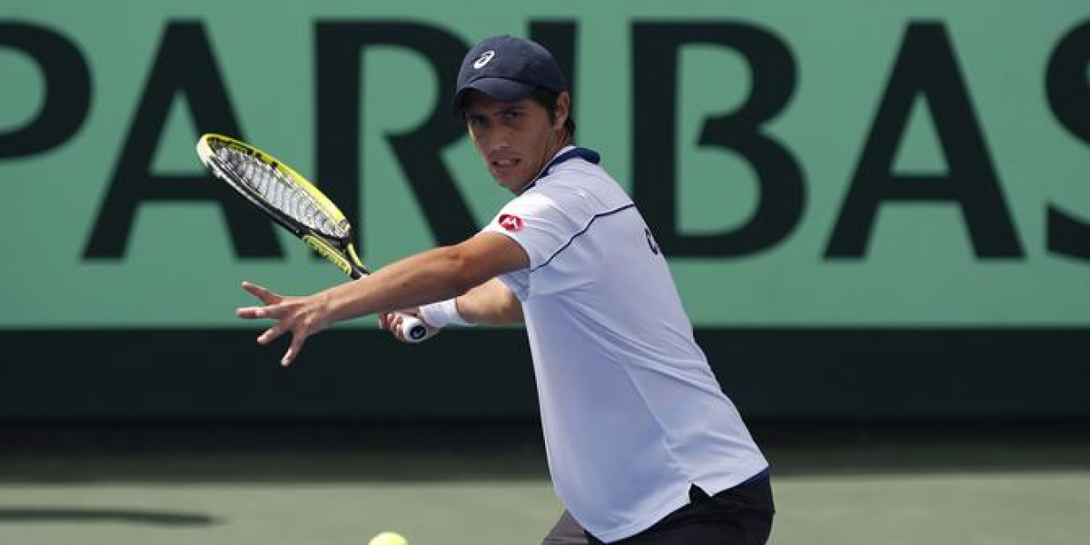 Capdeville busca volver a un Grand Slam tras cinco años