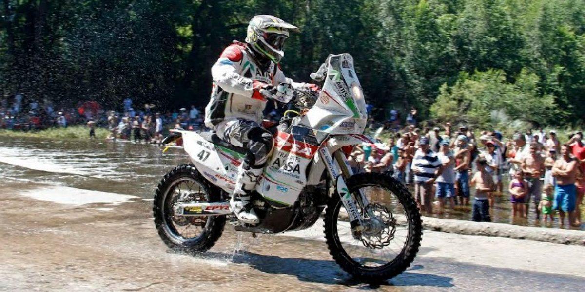 Chile sufre su tercera baja del Dakar en la categoría de motos