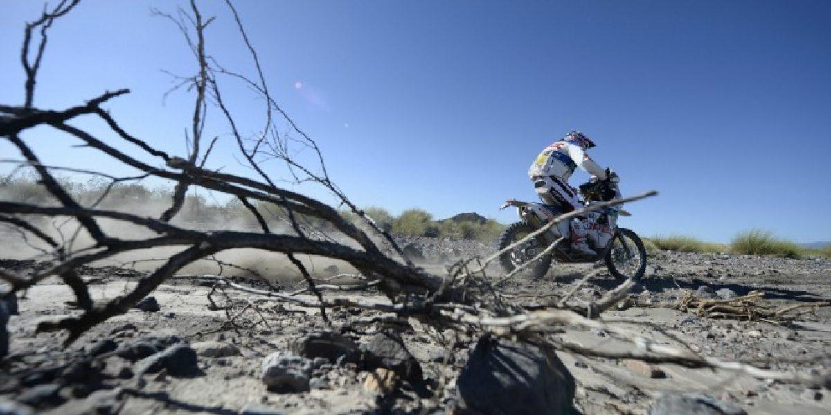 Francisco López sufrió problemas técnicos y sale del podio en la clasificación general