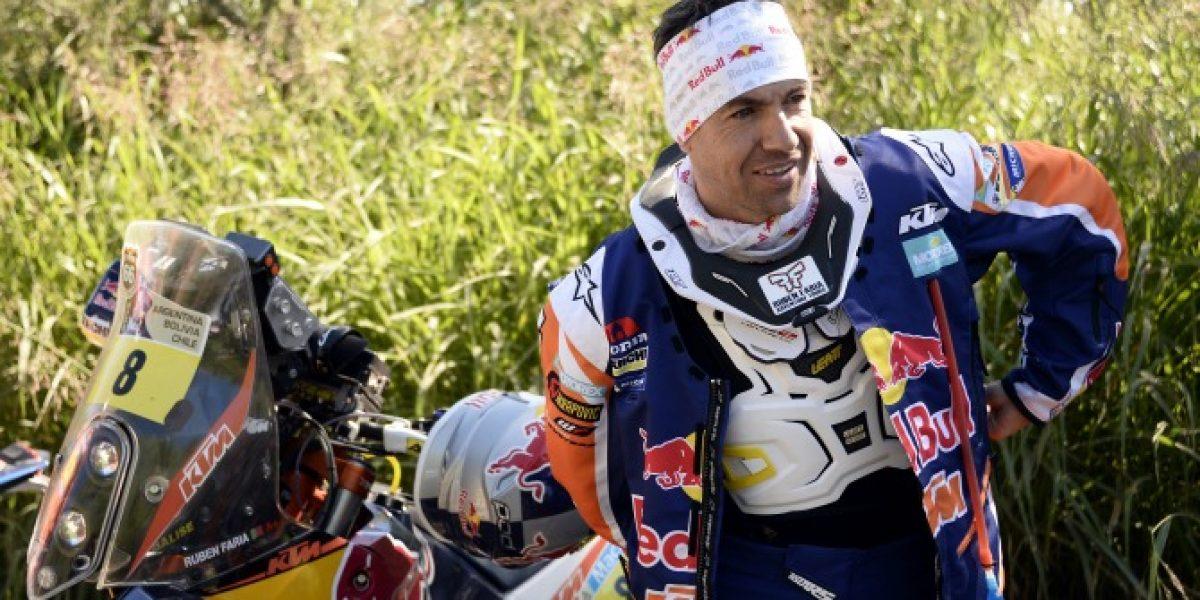 Piloto subcampeón en el Dakar 2013 abandona la competencia luego de fuerte accidente
