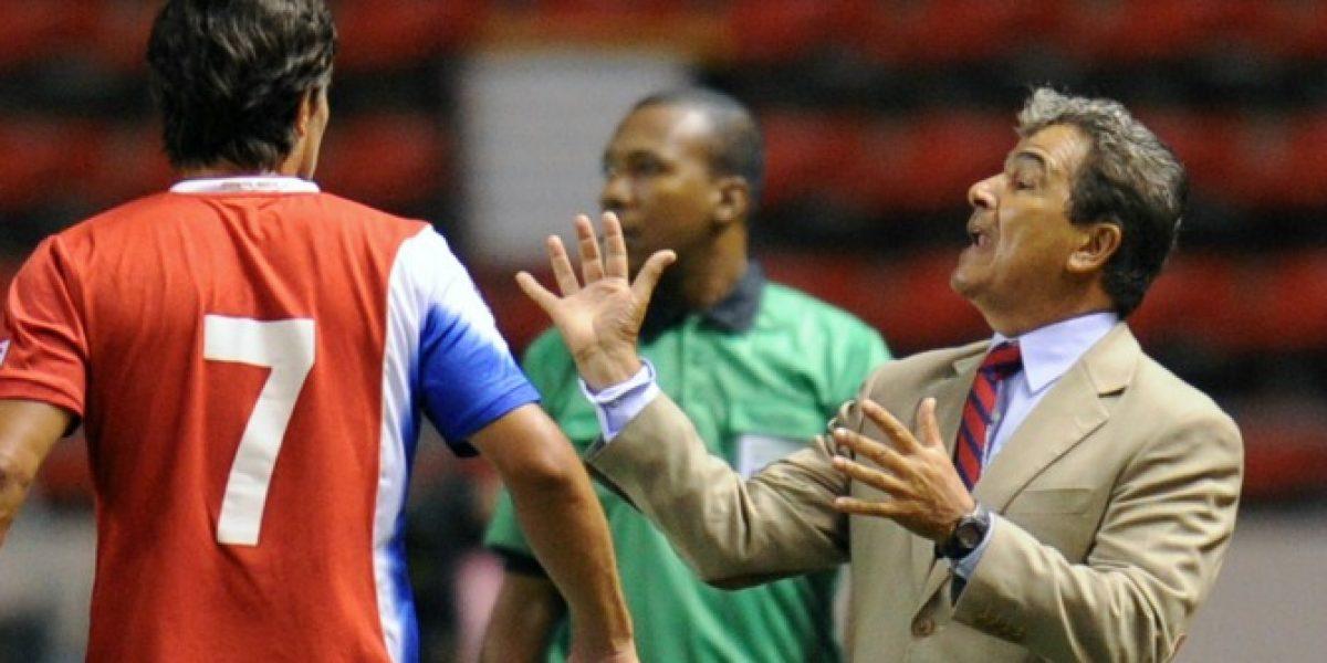 DT de Costa Rica y amistoso con la Roja: