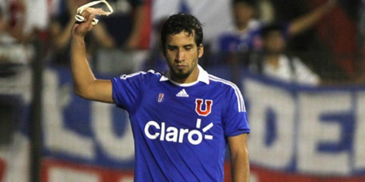 Ex jugador azul será compañero de Jorge Valdivia en Palmeiras