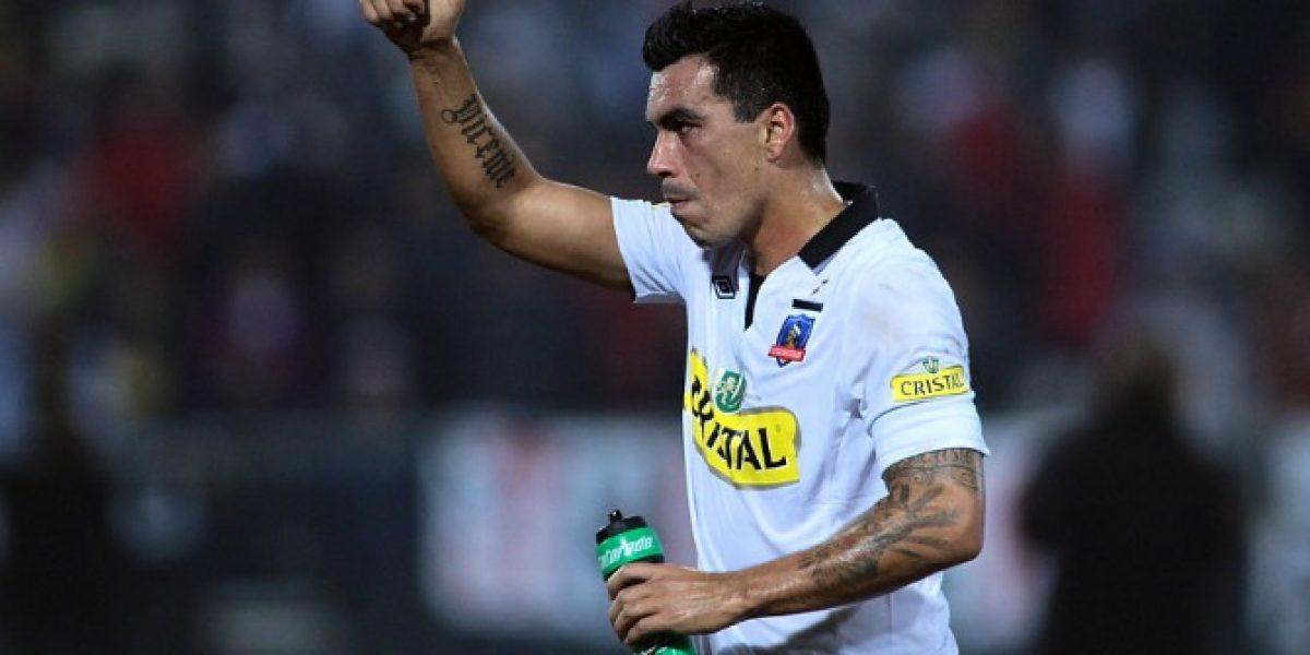 Esteban Paredes llegará este jueves para aclarar su arribo a Colo Colo