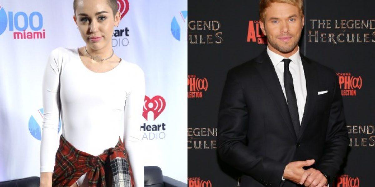 Kellan Lutz desmiente romance con Miley Cyrus