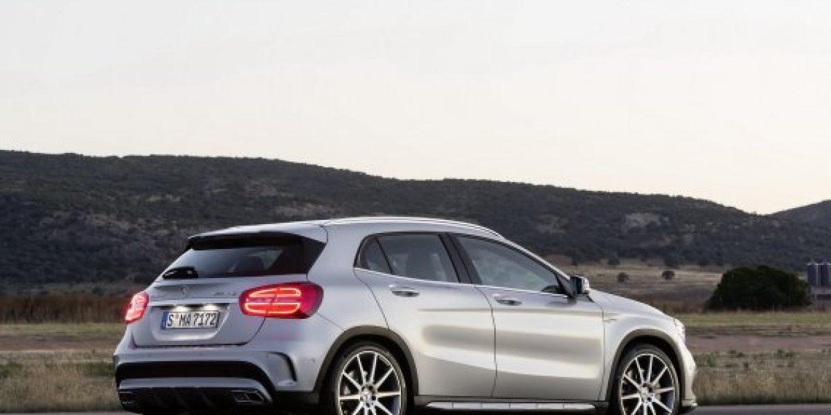 Mercedes Benz revela detalles de su nuevo GLA45 AMg crossover