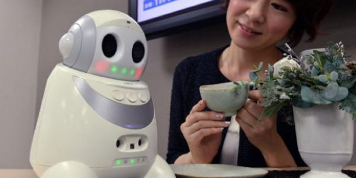 Un robot que mejora la calidad de vida de los adultos mayores podría llegar a Chile