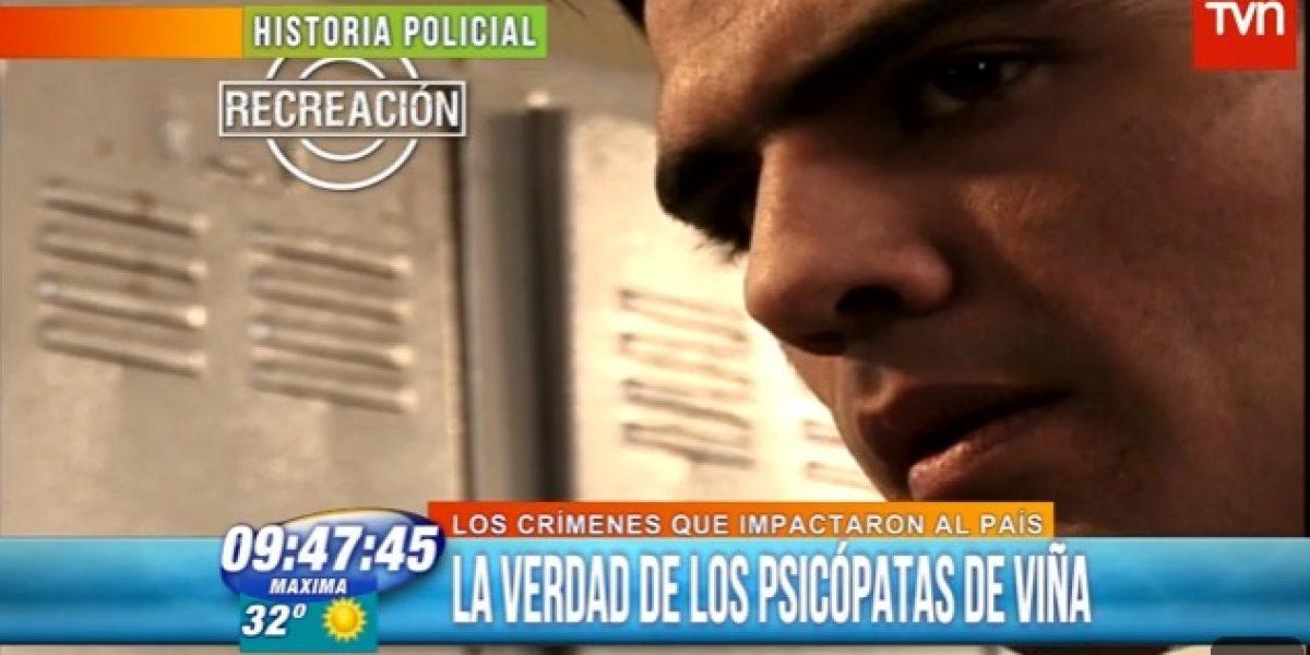 TVN recrea historia de los sicópatas de Viña cuando Canal 13 tiene teleserie basada en los hechos