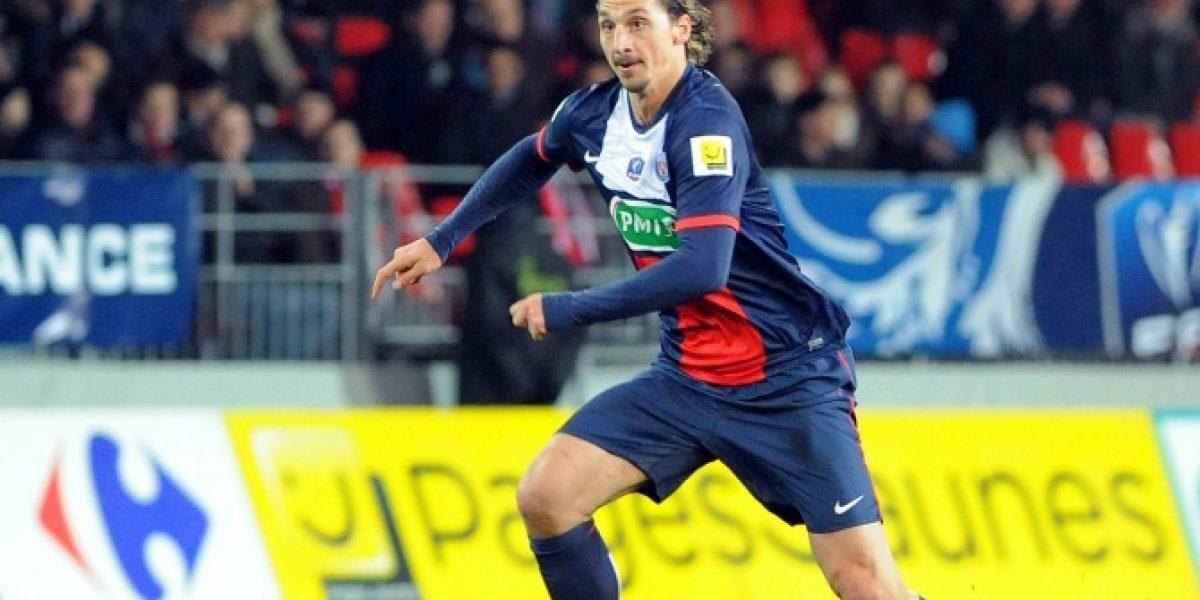 ¡Ibrahimovic no para!: Anotó tres goles en duelo por la Copa de Francia