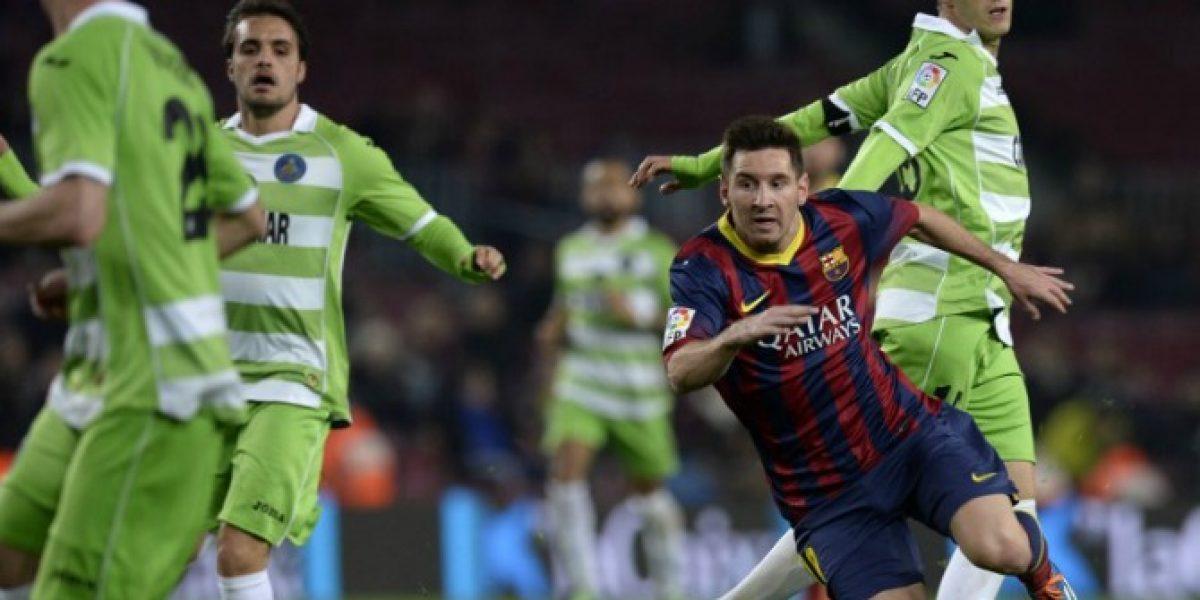 Iluminado: Messi volvió a las canchas y deslumbró ante Getafe en la Copa del Rey