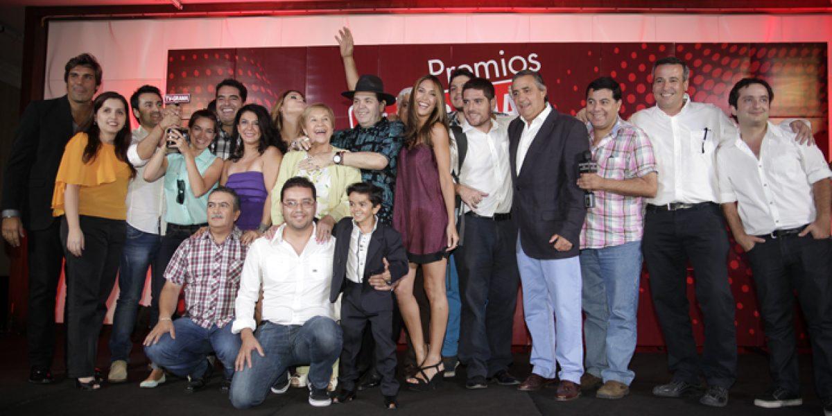 Karen Paola y Gianella Marengo deslumbraron en los premios TV Grama