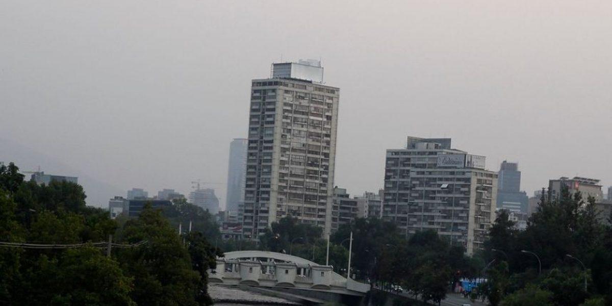 [FOTOS] Santiago amanece bajo alerta ambiental