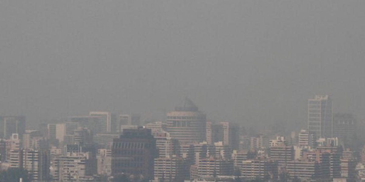 Informe: Calidad del aire en Santiago está
