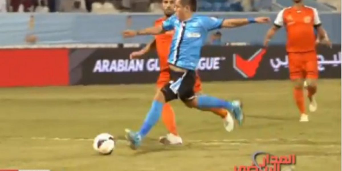 Video: Carlos Muñoz no se cansa de hacer goles en Emiratos Árabes