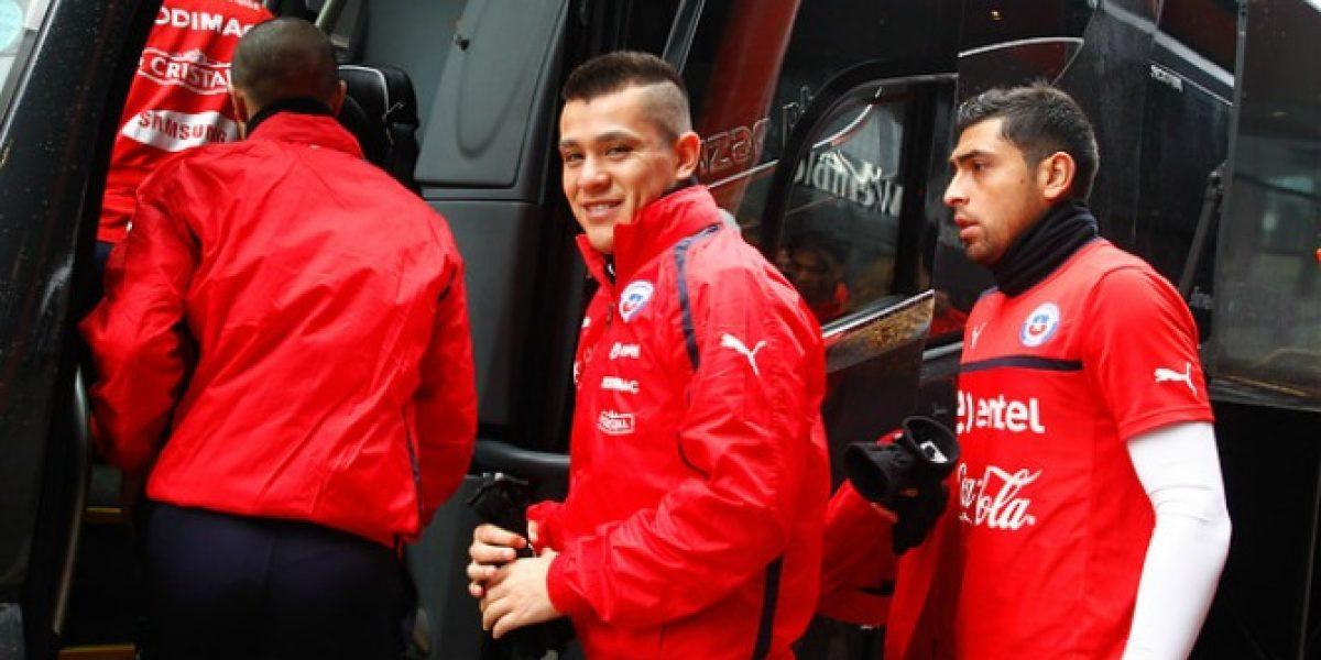 Carlos Muñoz y sus ganas de vestir la Roja: