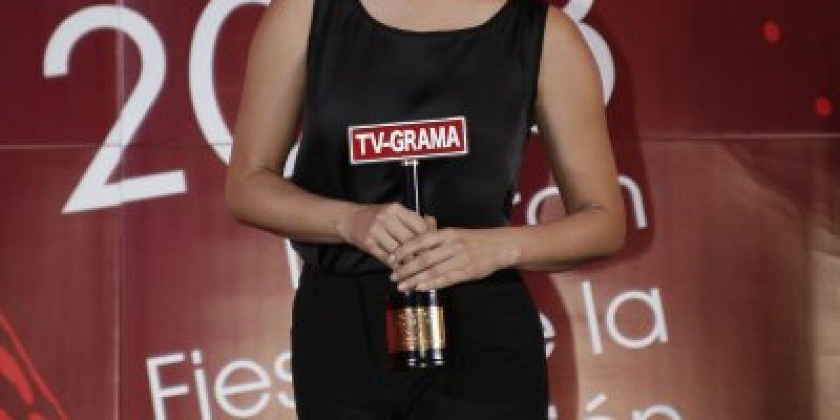Lorena Bosch sorprende con nuevo look en premios TV Grama