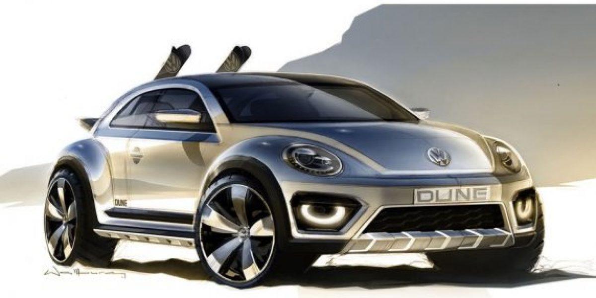 Un nuevo Volkswagen Beetle todoterreno