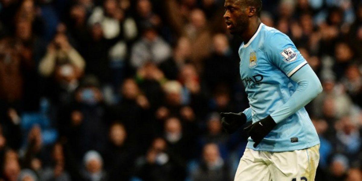 Yaya Touré fue escogido como el mejor jugador africano del 2013