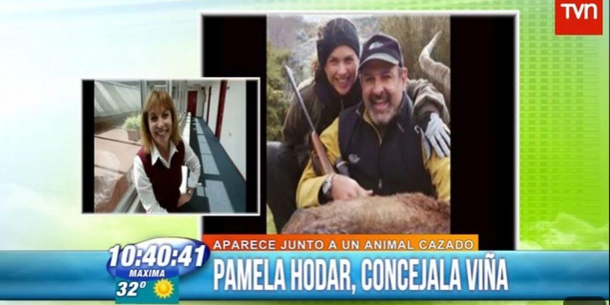 Pamela Hodar, concejala de Viña del Mar: