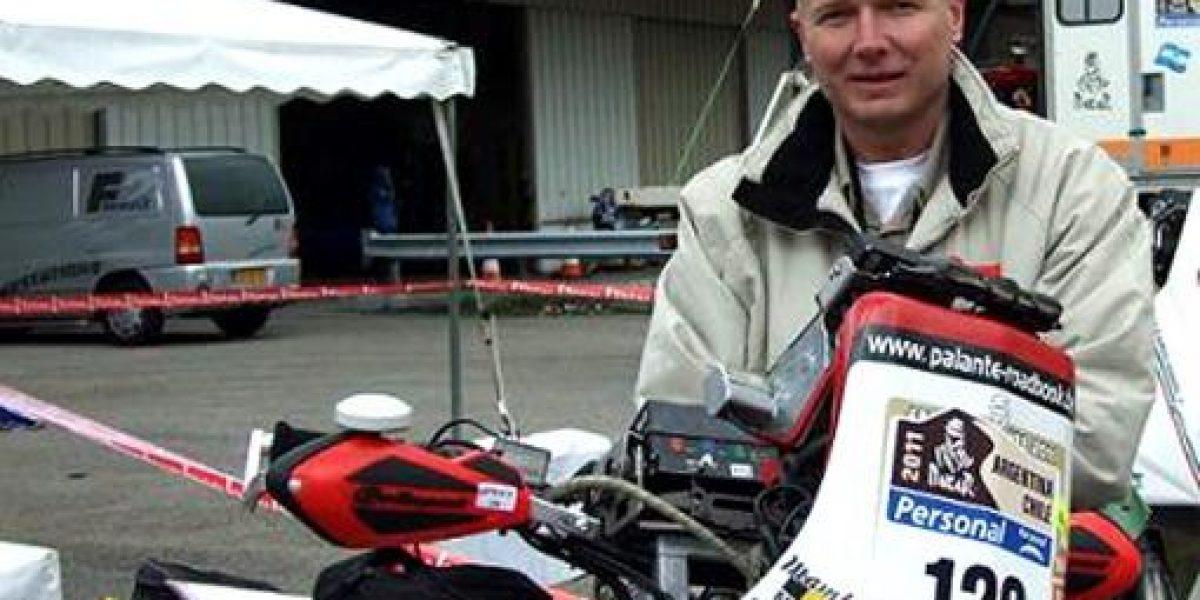 Muere piloto Eric Palante en Dakar 2014